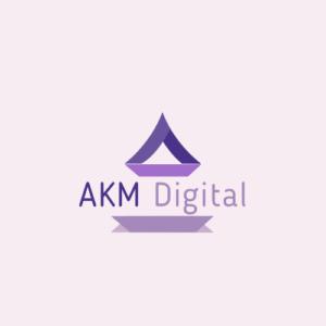 akm digital logo, AKMDIGITAL