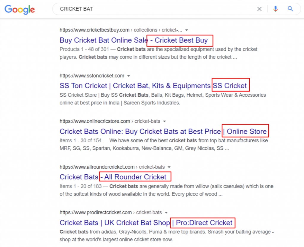SEO Title Optimization with Brand Name