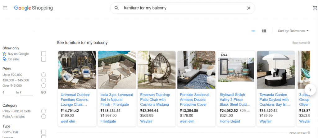 Google Shopping Tab SEO
