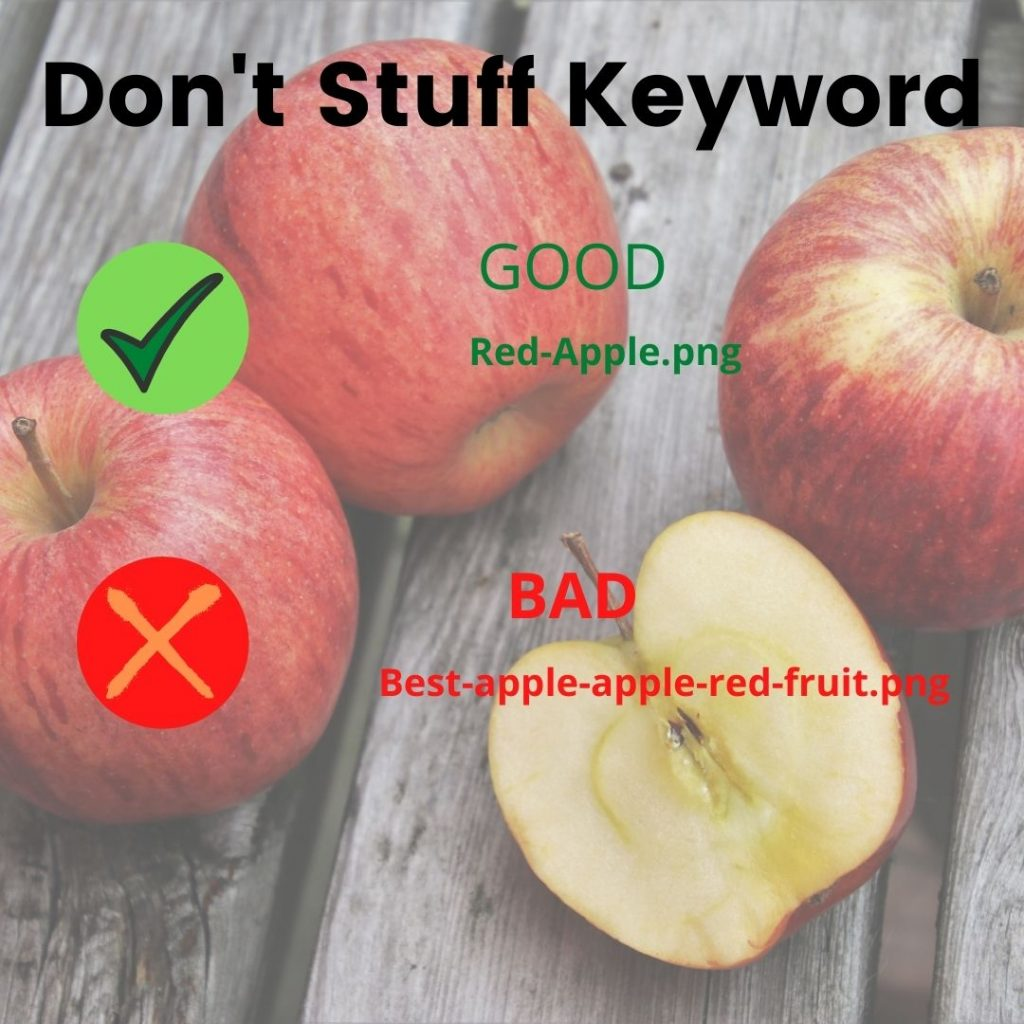 Don't Stuff Keyword