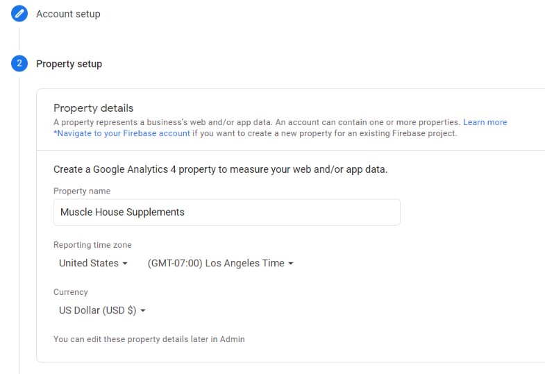 Reporting Time Zone and Currency in Google Analytics
